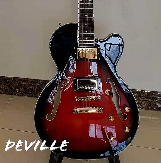 Bootlegger Guitar DeVille 2019 Red Burst