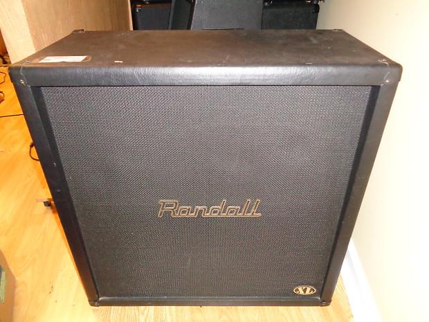 used randall xl 4x12 stereo guitar speaker cabinet reverb. Black Bedroom Furniture Sets. Home Design Ideas