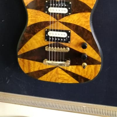 Occhineri Custom Guitar Exotic Flame Top for sale
