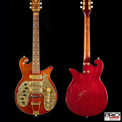 Premier E723 1959-60 Ruby Red-faded for sale