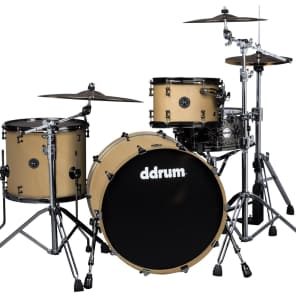 "ddrum MAX-324-SN 12"" / 16"" / 24"" 3pc Alder Shell Pack"