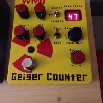 WMD Geiger Counter Digital Destruction Guitar Pedal Distortion Bit Crusher