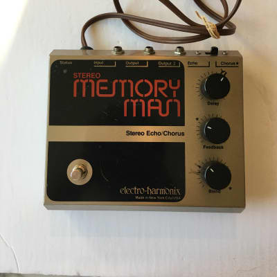 Electro Harmonix Memory Man Stereo Echo Chorus Original Vintage Guitar Pedal