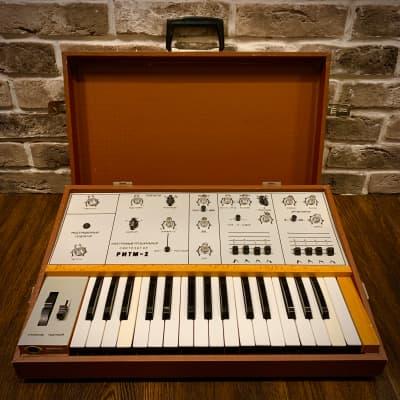 Ritm-2 Rythm-2 Rare Vintage USSR Analog Synthesizer (Soviet Moog Prodigy)