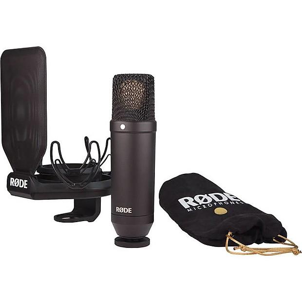 B-WARE Rode NT1-A Studio Großmembran Mikrofon Recording Mic Spinne Popkiller Set