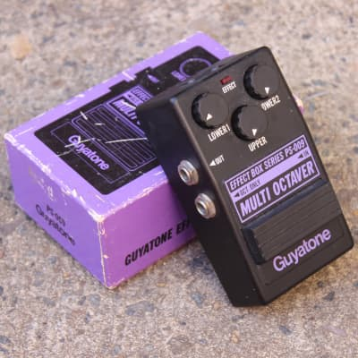 1981 Guyatone PS-009 Multi Octaver Effects Pedal (Made in Japan) w/Box for sale