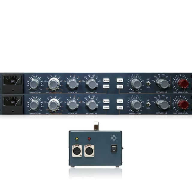 BAE 10DCF | Dual Single Channel Filter Compressor + Limiters with Power Supplies image