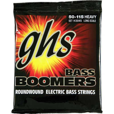 GHS Bass Boomers 50-115 Long Scale