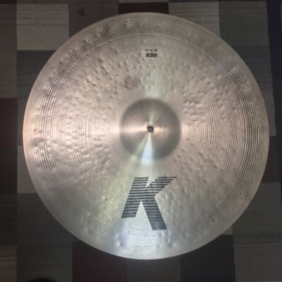 Zildjian IAK K Zildjian Ride Cymbal 1990's Natural w/ sound clip