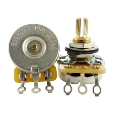 "Emerson Pro CTS 250K Short 3/8"" Split Shaft Potentiometer"