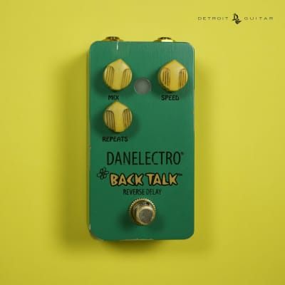 Danelectro Back Talk Reverse Delay Pedal - In Stock! for sale