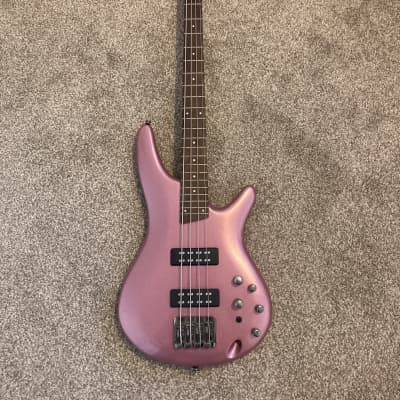 Ibanez SR300E-PGM Soundgear Standard Bass 2021 Pink Gold Metallic for sale