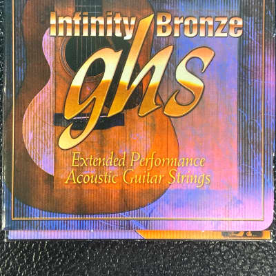 GHS IB20X 11-50 Infinity Bronze Strings EXTRA LIGHT