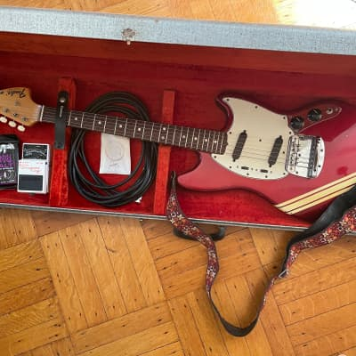 Fender Mustang 1971 Candy Apple Red