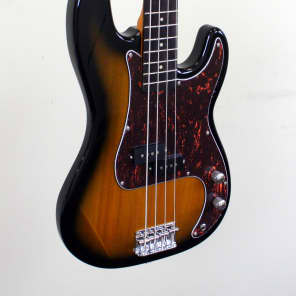 Jay Turser JTB-400C Bass Guitar Tobacco Sunburst for sale