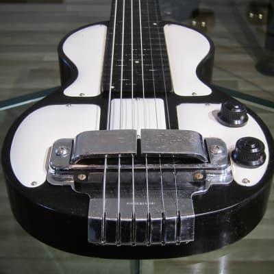 Rickenbacker Rickenbacher B6 Hawaiian Steel Guitar Post War Black & White Bakelite Constructed for sale