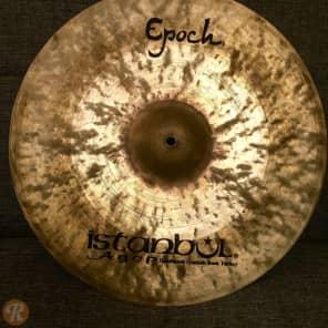 "Istanbul Agop 18"" Signature Lenny White Epoch Crash"