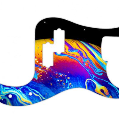 Fender P Bass Wild Planet Custom Pickguard for sale