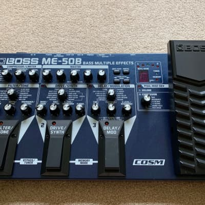 Boss ME-50B Bass Multiple Effects for sale