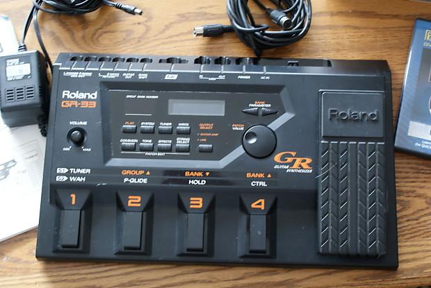 Roland g-33 bass guitar synthesizer controller gr-33b.