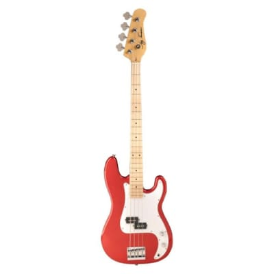 Jay Turser P-Bass  3/4 Style Trans Red for sale