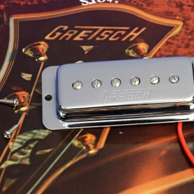 Genuine Gretsch Chrome Electro Lap Steel Guitar Pickup 0069709000 New.