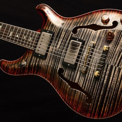 NEW Paul Reed Smith Wood Library McCarty 594 Hollowbody II in Brian's Limited Burnt Maple leaf! for sale