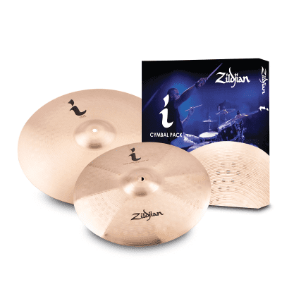 """Zildjian I Family Expression Pack with 14"""" / 17"""" Cymbals"""