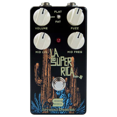 Seymour Duncan La Super Rica Fuzz True Bypass Guitar Effects Pedal Stompbox