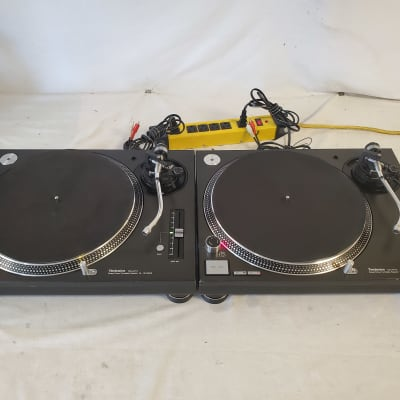 Technics SL1210MK5 Direct Drive Professional Turntables - Sold Together As A Pair - Great Used Cond