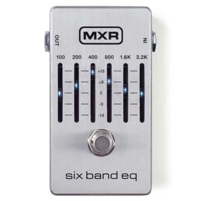 MXR M109S Six Band Graphic EQ Equaliser Guitar Effects Pedal for sale