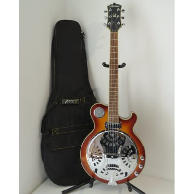 Alden Electric Resonator Guitar with Gig Bag - Sunburst for sale