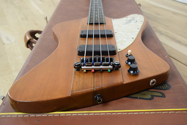 gibson 1996 thunderbird ebony pearloid rare bass guitar w reverb. Black Bedroom Furniture Sets. Home Design Ideas