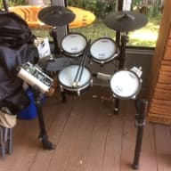 Roland TD-9SX V-Tour Series Electric Drum Kit - complete in Excellent condition - Local Pickup ONLY