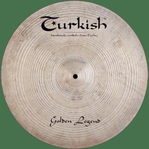 "Turkish Cymbals 20"" Custom Series Golden Legend Ride GL-R20"