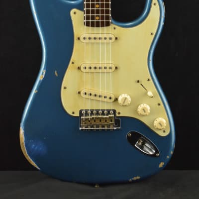 2a20fe5aa08 Fender Custom Shop Dual Mag Relic Stratocaster Rosewood Aged Lake Placid  Blue 2016