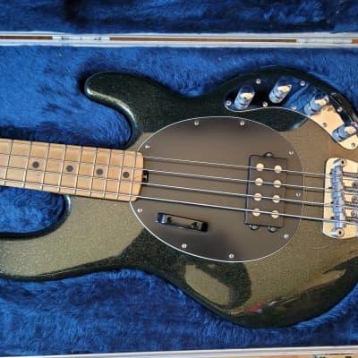 00's 2000 Music Man Ernie Ball StingRay USA Rare Green color with original hardcase for sale