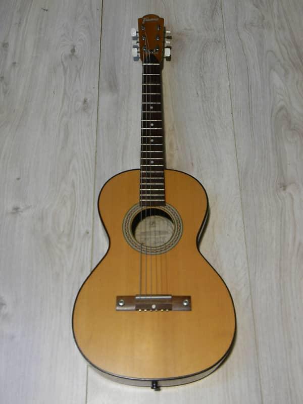 small vintage FRAMUS 00110 parlor fingerstyle Blues GUITAR Gitarre Germany 1975 image