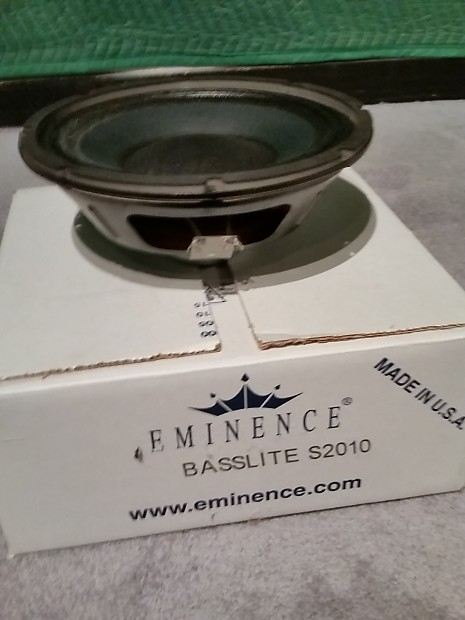 EMINENCE S2010 DRIVERS (2019)