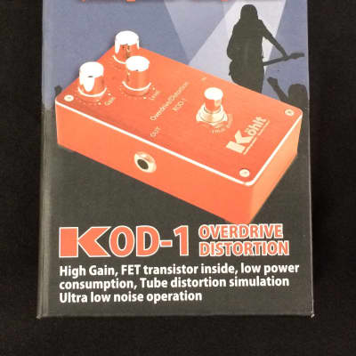 Kohlt KOD-1 High Quality Overdrive & Distortion Guitar Effects FX Pedal Immaculate Condition!