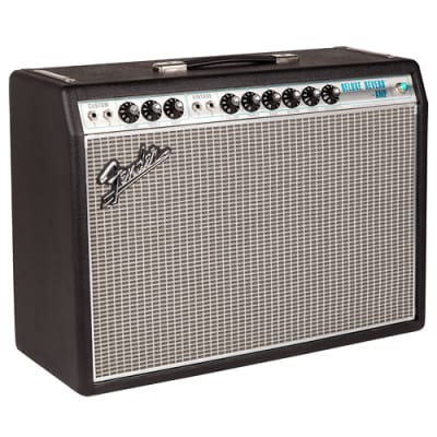 "FENDER '68 Custom Deluxe Reverb Tube Amp 12"" 22 Watt 2 Channels"