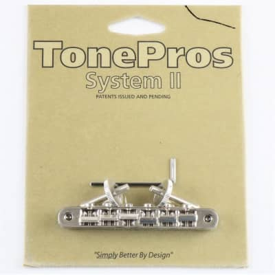 TONEPROS ABR-1 REPLACEMENT TUNE-O-MATIC NICKEL