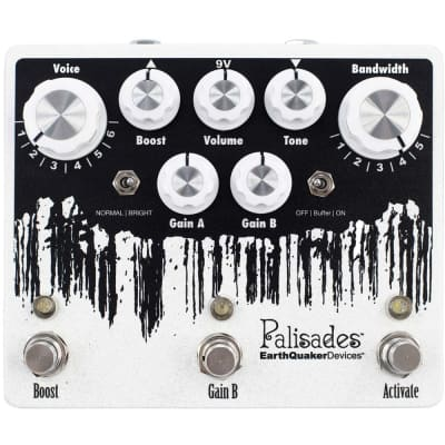 EarthQuaker Devices Palisades Overdrive V2 effects pedal for sale