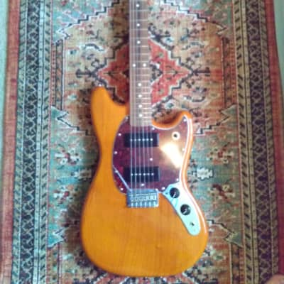 Fender Offset Series Mustang 90 Aged Natural, Mexican Made, Manufactured '21!