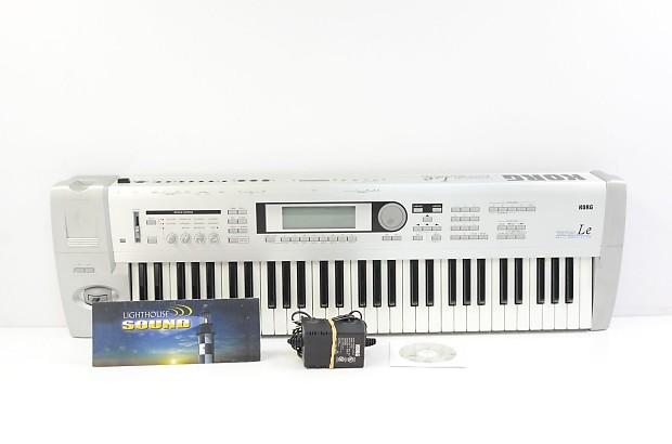 Korg Triton LE 61-Key Keyboard Workstation w/ Power Supply