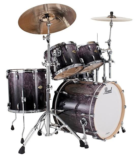 pearl mcx ash fade new 4pc 22x18 12x9 13x10 16x16 drum set reverb. Black Bedroom Furniture Sets. Home Design Ideas