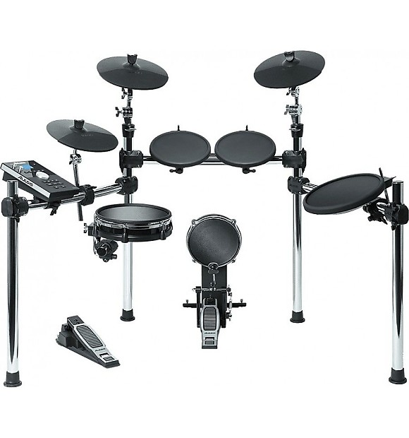 Alesis Command 8pc Electronic Drum Kit W Mesh Snare And Kick Reverb