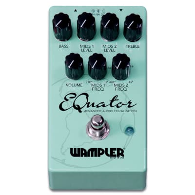 New Wampler EQuator Advanced Audio Equalizer Guitar Effects Pedal!