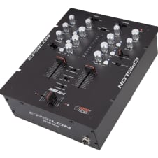 Epsilon - INNO-Mix2 - Professional 2-Channel DJ Mixer - Black