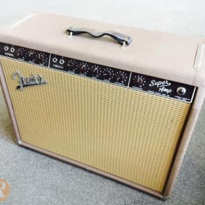 "Fender Super 6G4-A Brownface 40-Watt 2x10"" Guitar Combo 1961 - 1963"